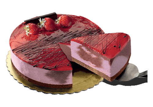 CRISTO GELATO - Τούρτες - Σοκολάτα - Φράουλα